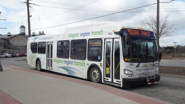 niagara region transit bus service
